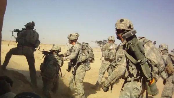 """▲资料图片:美军101空中突击师士兵在阿富汗""""反恐作战""""资料图。(美国防部官网)"""