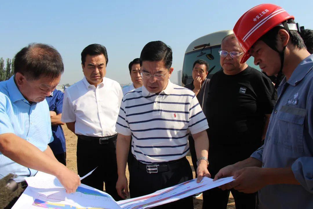 昨天,市长陈平到多个城建项目施工现场,作了这些要求!