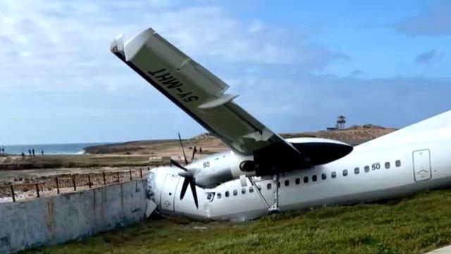肯尼亚货机在索马里坠毁 2人受伤