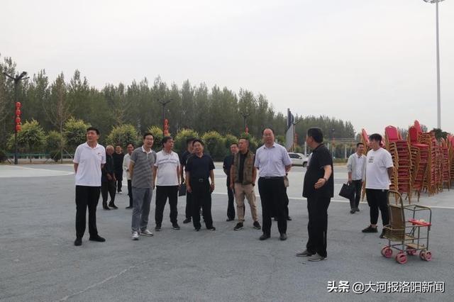 洛阳市农业和农村局局长裴赴益阳监督检查丰收节筹备工作