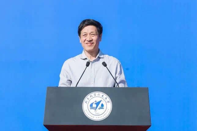 """北航校长徐惠彬寄语新生:把小我融入大我,努力做从""""0到1""""的探索"""