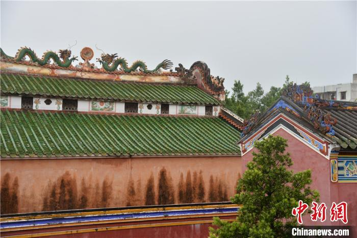 文昌孔庙古色古香的修建。凌楠 摄
