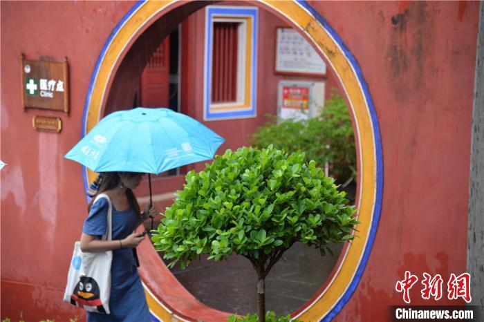 探访海南文昌孔庙:一座不开大门的孔庙图片