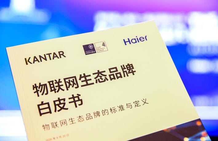全球首个物联网生态品牌标准在青岛发布