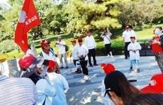 50位齐鲁志愿者济南小清河边开展巡河护河行动