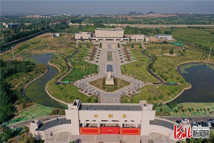 河北磁县北朝考古博物馆正式开馆
