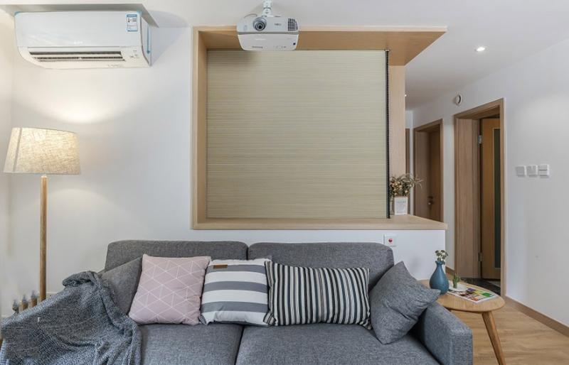 惊艳日式风,宅家也自在,90平米的三居室让人每天都元气满满。