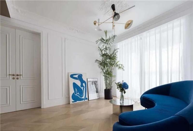 153平米房子法式风装修,这样的三居室简直是绝美,良心老师傅亲自打造。