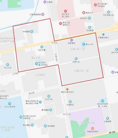因地铁3号线工程建设 9月22日哈尔滨市南岗区部分区域停水