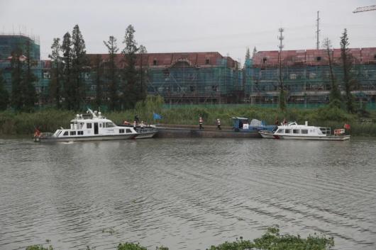 加强救援经验累积 嘉定太仓交界处开展水上突发事件演练