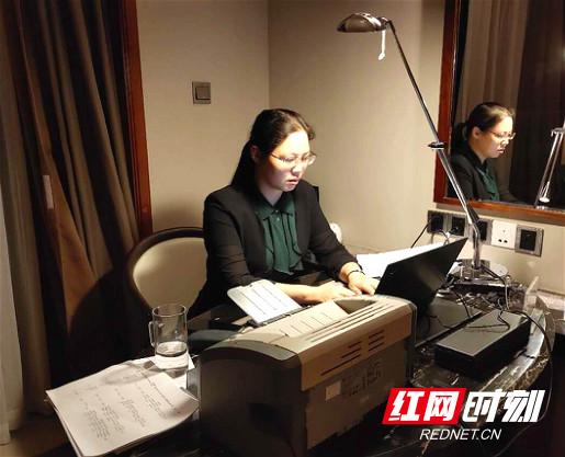"""省第四督察组综合协调组长肖志颖:奋战在一线的""""花木兰"""""""