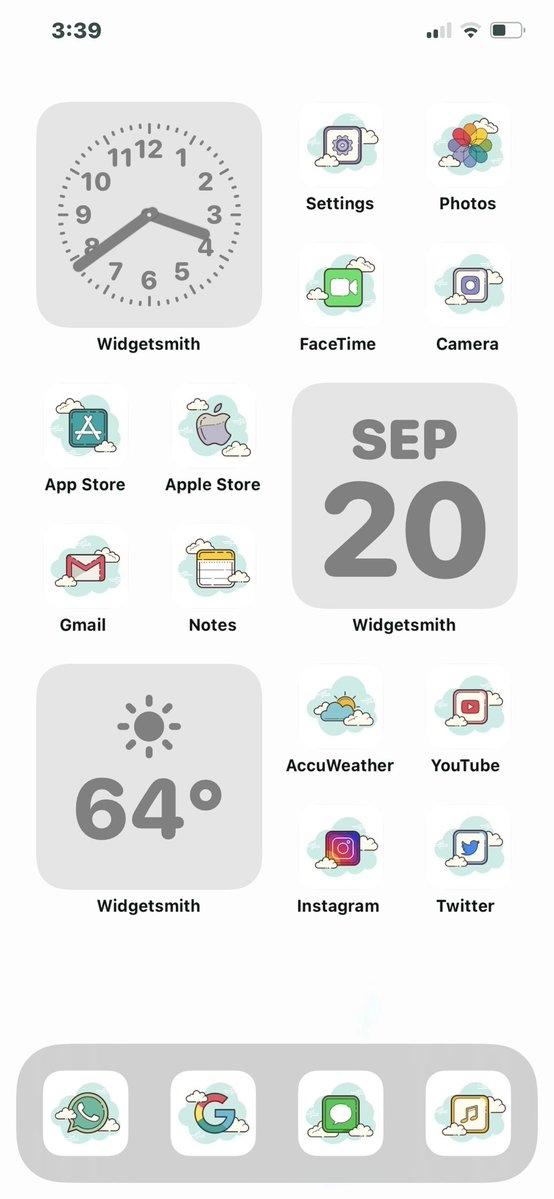 iOS 14支持小部件了 苹果用户花式秀桌面:会玩
