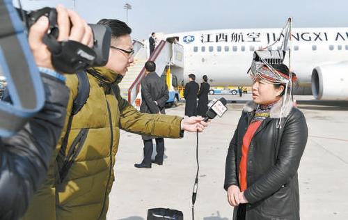 雷燕琴代表:为畲乡发展插上腾飞的翅膀图片