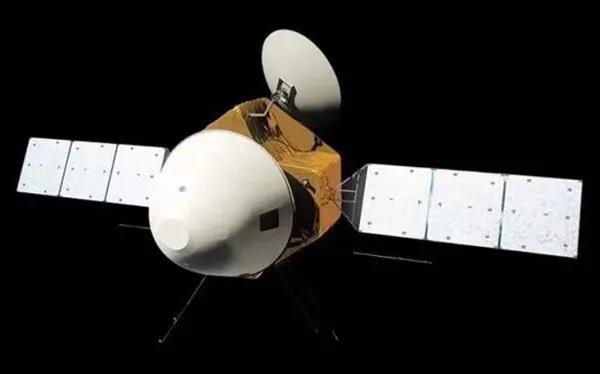 天问一号探测器完成第二次轨道中途修正图片