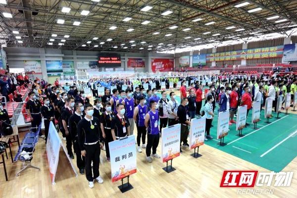 湖南省气排球比赛落幕 湘潭市排协代表队获三个一等奖