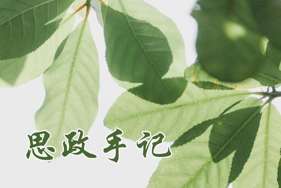 思政手记① | 刘博:永葆初心本色,扛起使命担当图片
