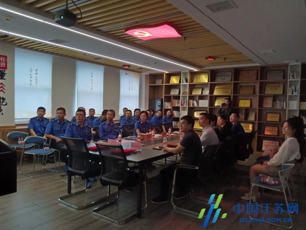 新吴城管携手尚德太阳能签约党建联盟 助推城市管理、企业发展开拓新局面