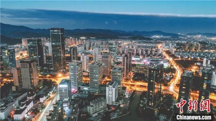 图为中国(浙江)自由贸易试验区。