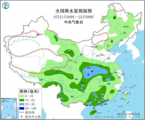 中东部地区将迎大范围降水,局地有雷暴冰雹天气