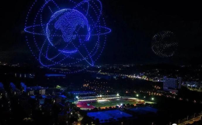 破世界纪录,场面震撼!广东这所高校亮了!