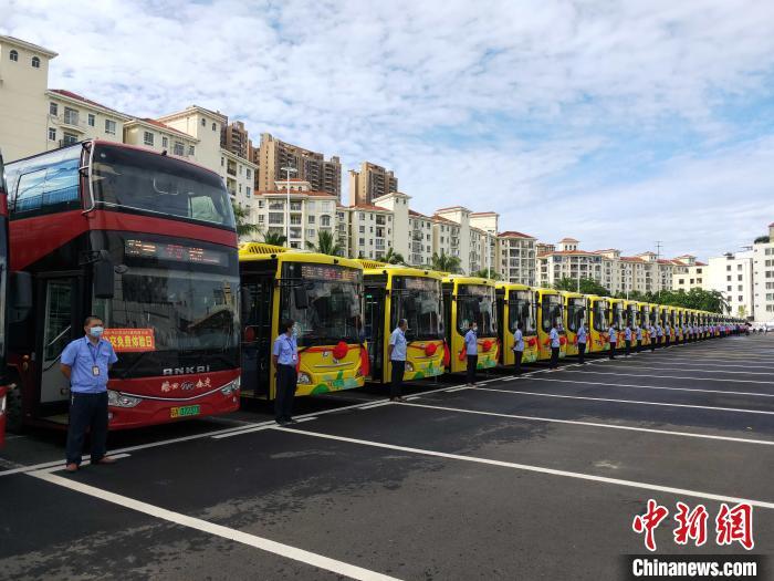 海口公交新能源与清洁能源化占比达100%