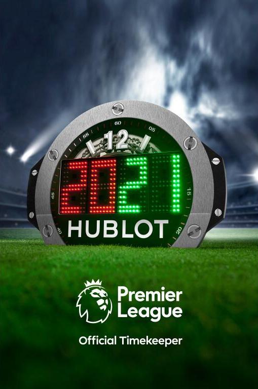 HUBLOT宇舶表成为英格兰足球超级联赛官方计时