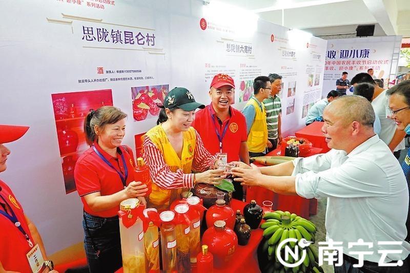 南宁市庆祝2020年中国农民丰收节启动仪式在宾阳举行