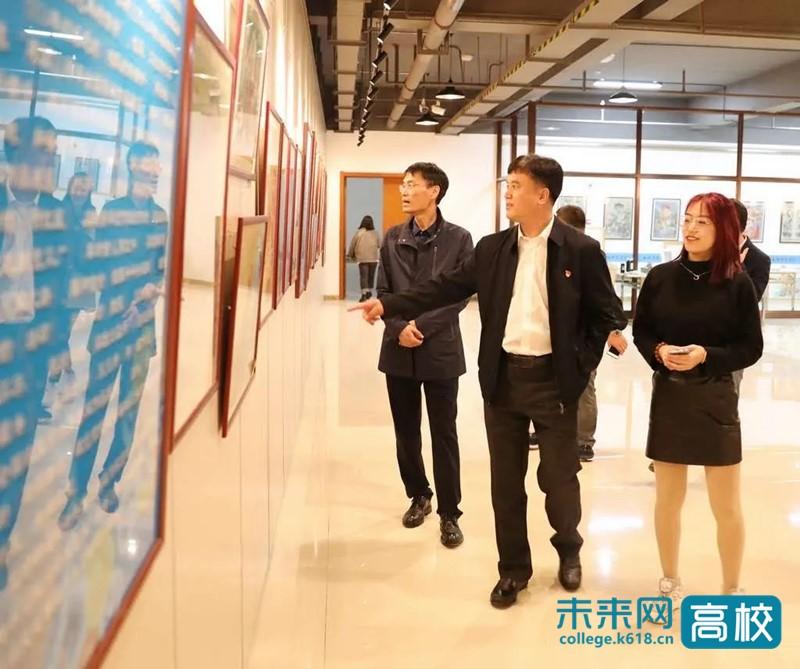吉林铁道职业技术学院考察调研白城师范学院教师培训工作