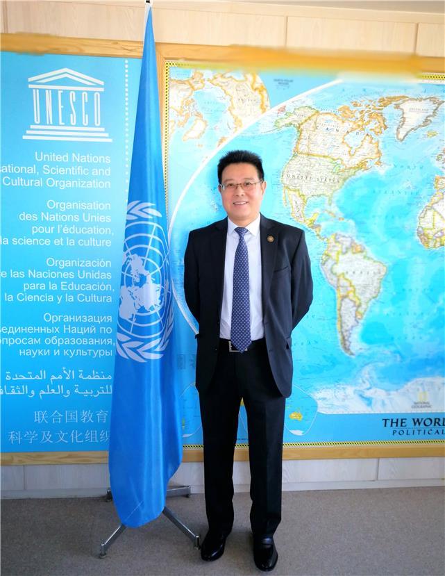 """联合国教科文组织高官:""""一带一路""""倡议为国际合作发展树立典范"""