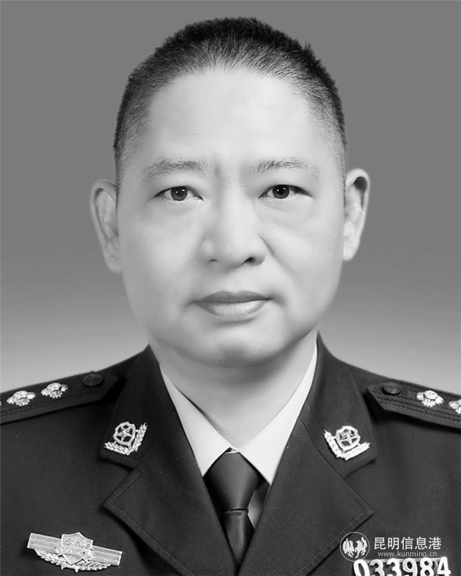 红河州屏边县公安局副局长刘勇连续奋战70余小时倒在岗位上