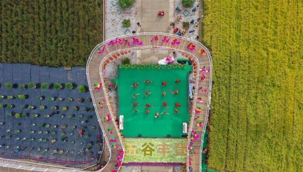 内蒙古扎赉特旗举办农民丰收
