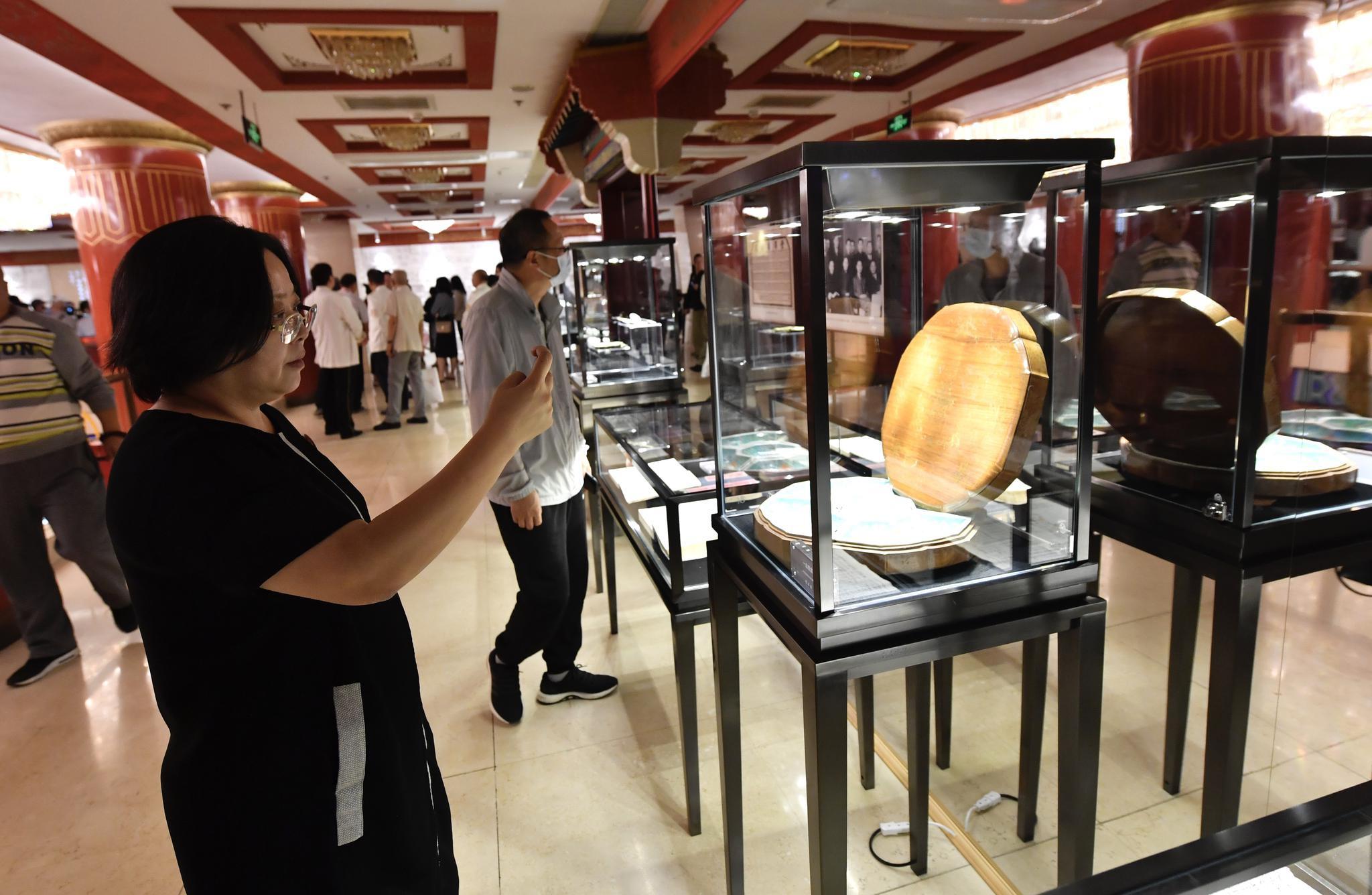 """丰泽园90周年""""庆寿"""",建店时期珍贵实物亮相历史文化环廊图片"""