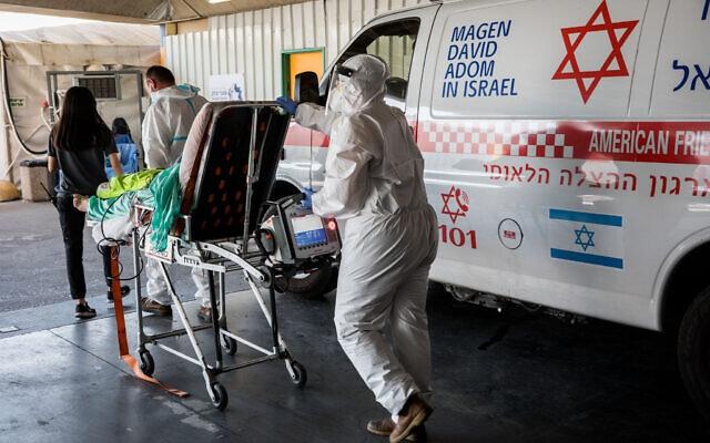 以色列新增新冠肺炎确诊病例2641例,累计超19万例