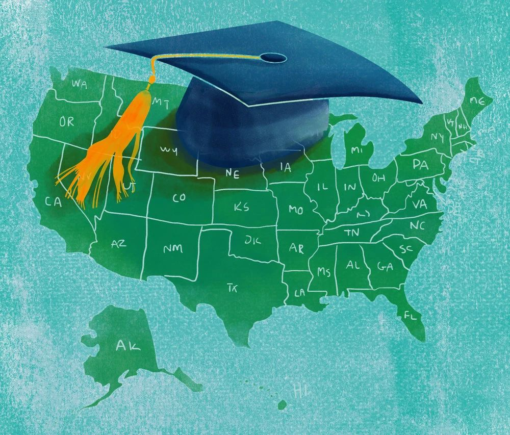 """赴美留学忐忑难安的中国学生,却正成为其他国家眼中的""""蛋糕""""?"""