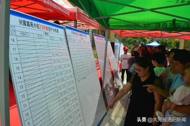 洛阳:李村镇130余户涉迁群众完成选房