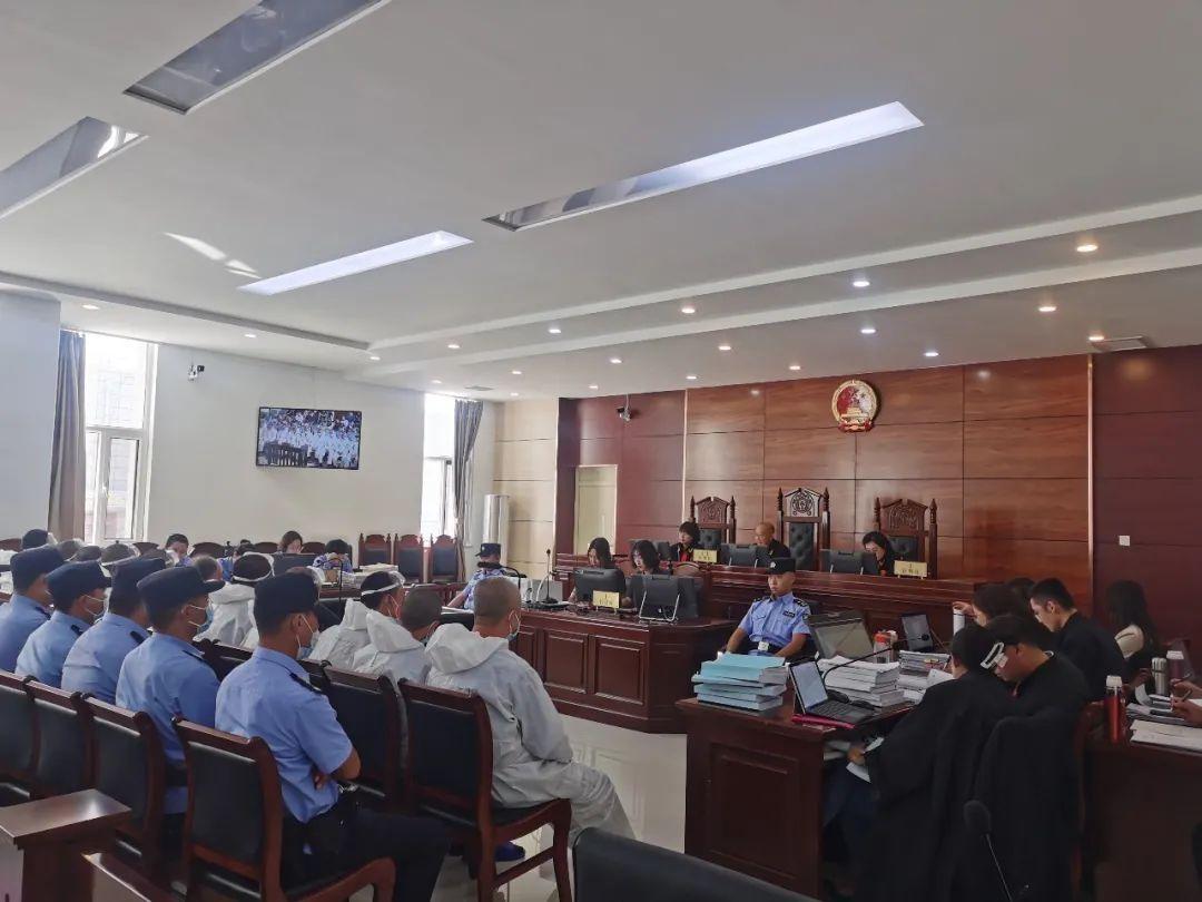 丰镇市人民法院公开审理一起涉恶案件