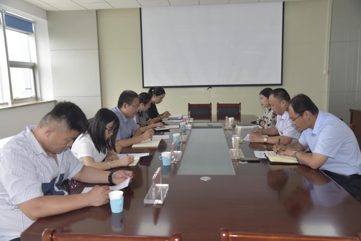 平阴县委党史研究中心到东营市东营区考察学习