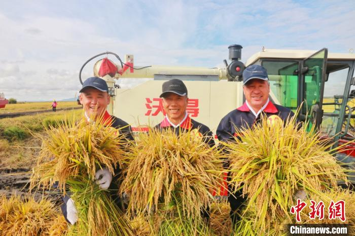 黑龙江省农民丰收节举行 1500万农民喜庆丰收
