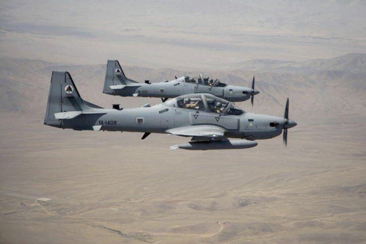 螺旋桨式飞机依旧有市场!阿富汗空军又接收4架A-29攻击机