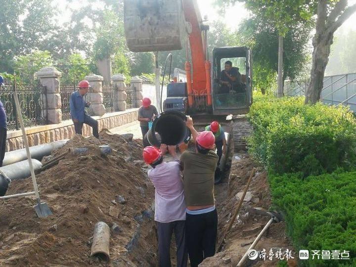 惠民县水利局:全力改造提升城区供水管网,升级城市供水保障能力