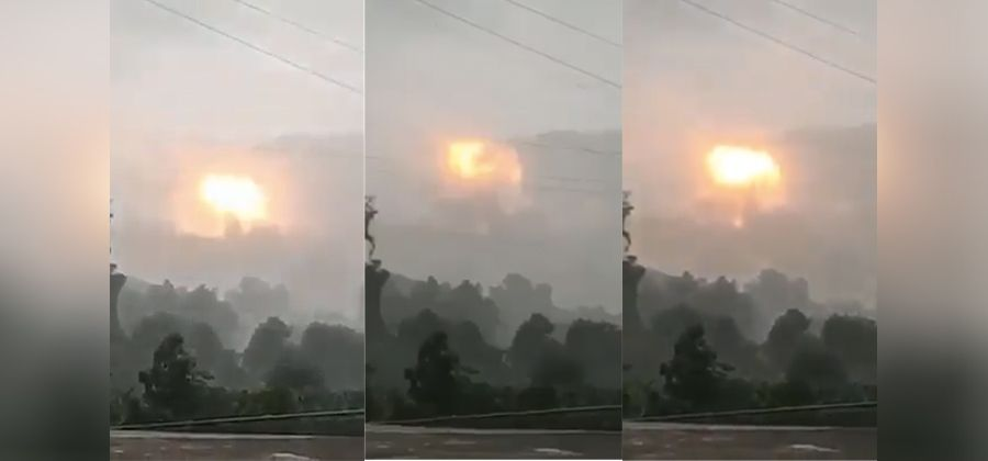 缅甸克钦独立武装一军火库发生爆炸 未造成人员伤亡