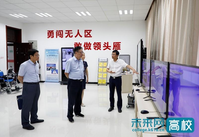 宁夏教育厅一行到西安电子科技大学调研交流