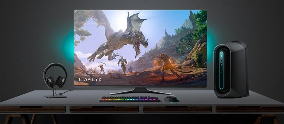 加速 4K 高刷屏普及,外星人 55 英寸 OELD 显示器降价 1000 美元