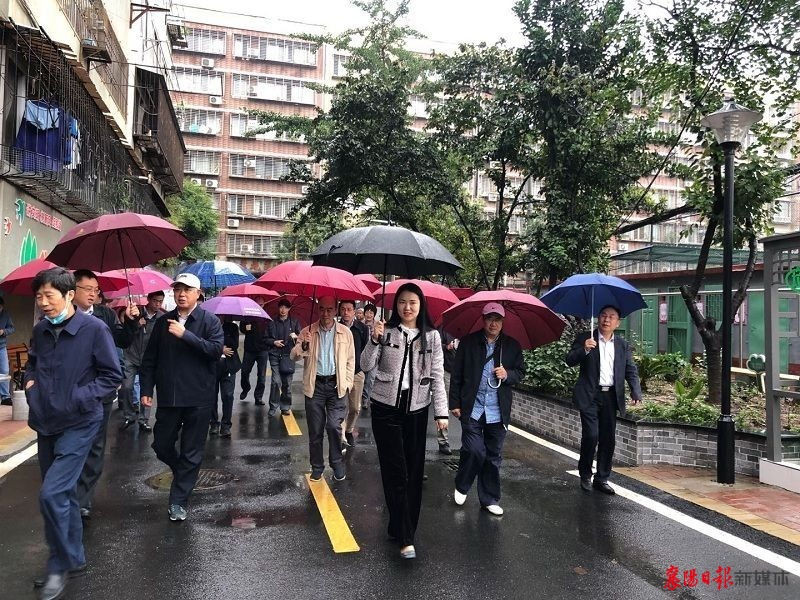 省政府文史馆员调研春园社区治理改革工作