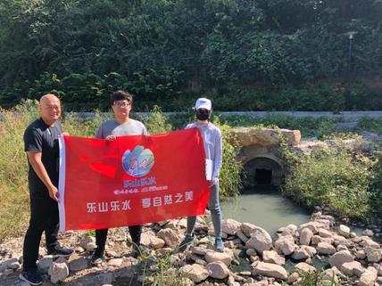 在行动丨绿行齐鲁志愿者,一天巡护7条河流查问题