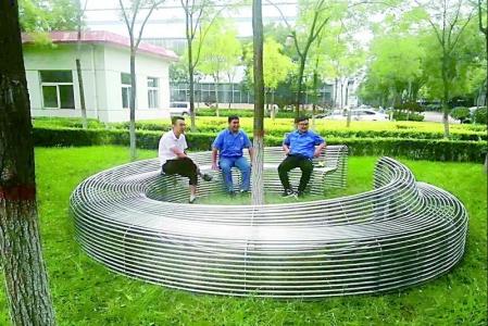 太钢不锈钢工业园成功中标北京温榆河公园不锈钢小品项目