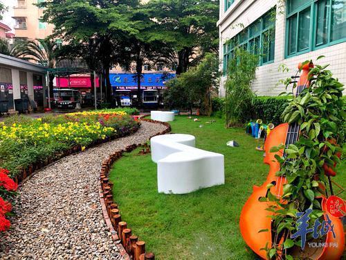 """花园与""""音乐""""完美结合!宝安首个社区共建花园亮相"""