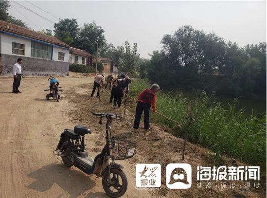 高唐县杨屯镇深入推进农村人居环境整治三年行动评估验收工作
