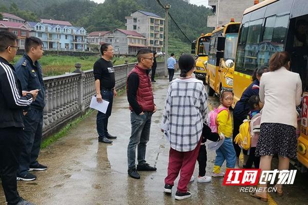 安化县奎溪镇开展第二轮校车安全整治行动