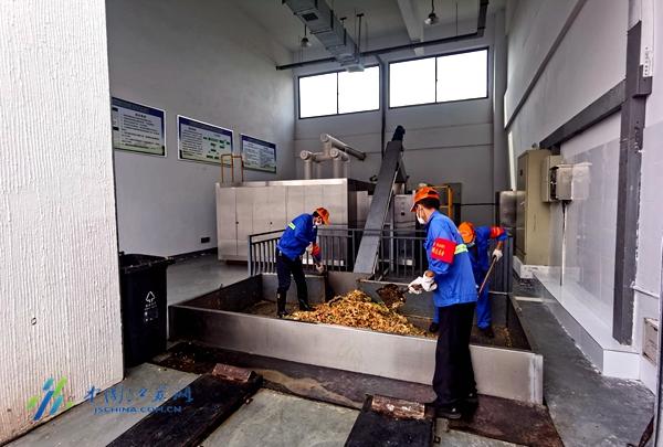 南京江宁区首座街镇级垃圾处置综合体投运 今年10月汤山所有小区完成撤桶并点
